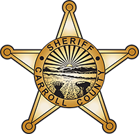 Carroll County Sheriff's Department Star Logo